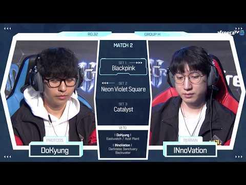 [2018 GSL Season 2] Code S Ro.32 Group H Match2 DoKyung vs INnoVation