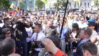 Акція   мітинг  Доступне Авто кожному українцю  Київ травень 2017