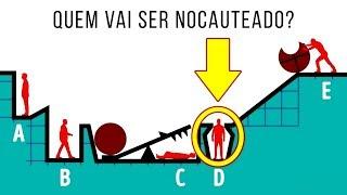 SOMENTE UM VERDADEIRO GÊNIO CONSEGUE GABARITAR ESTE QUIZ