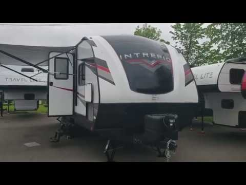 240BH Intrepid with front private bedroom and large bunk beds @ Miller Rv Sales Inc.