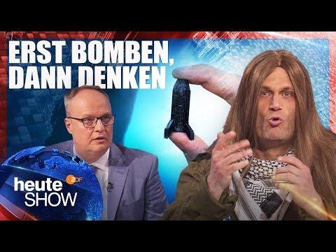 Trump feuert Raketen auf Syrien. Und was macht Deutschland? | heute-show vom 20.04.2018