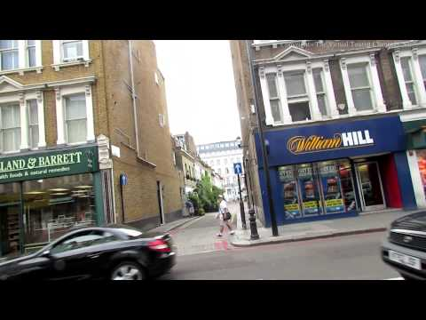 Earls Court Road in London 1