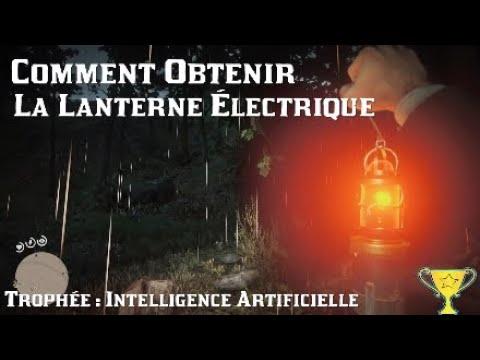 Red Dead Redemption 2 - Comment Obtenir La Lanterne Électrique / Trophée : Intelligence Artificielle