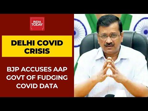 Coronavirus Crisis: BJP Accuses Kejriwal Govt Of Fudging Delhi's Covid Data