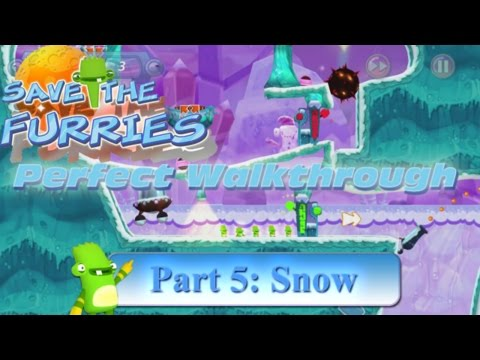 Save the Furries PC/Steam Walkthrough World 5 Snow (Levels 41-50)  