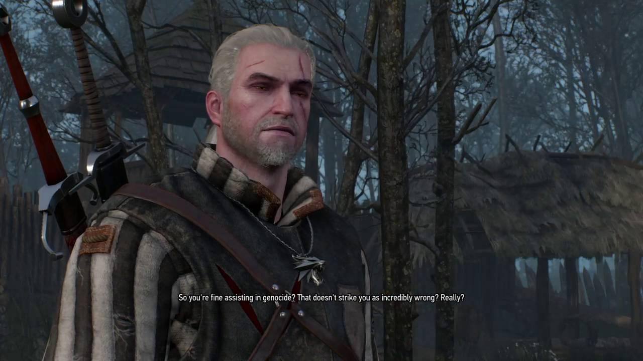 Best Geralt Quote Ever