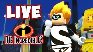 LEGO INCREDIBLES LIVE! NEW LEGO GAME!