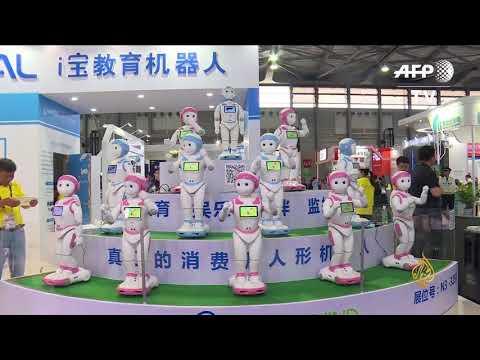 هذا الصباح - روبوت تثقيفي يعلم الأطفال ويراقبهم