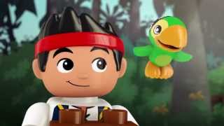 LEGO® DUPLO® - Jake's Buccaneer Blast: The Big Golden Tiki Treasure!