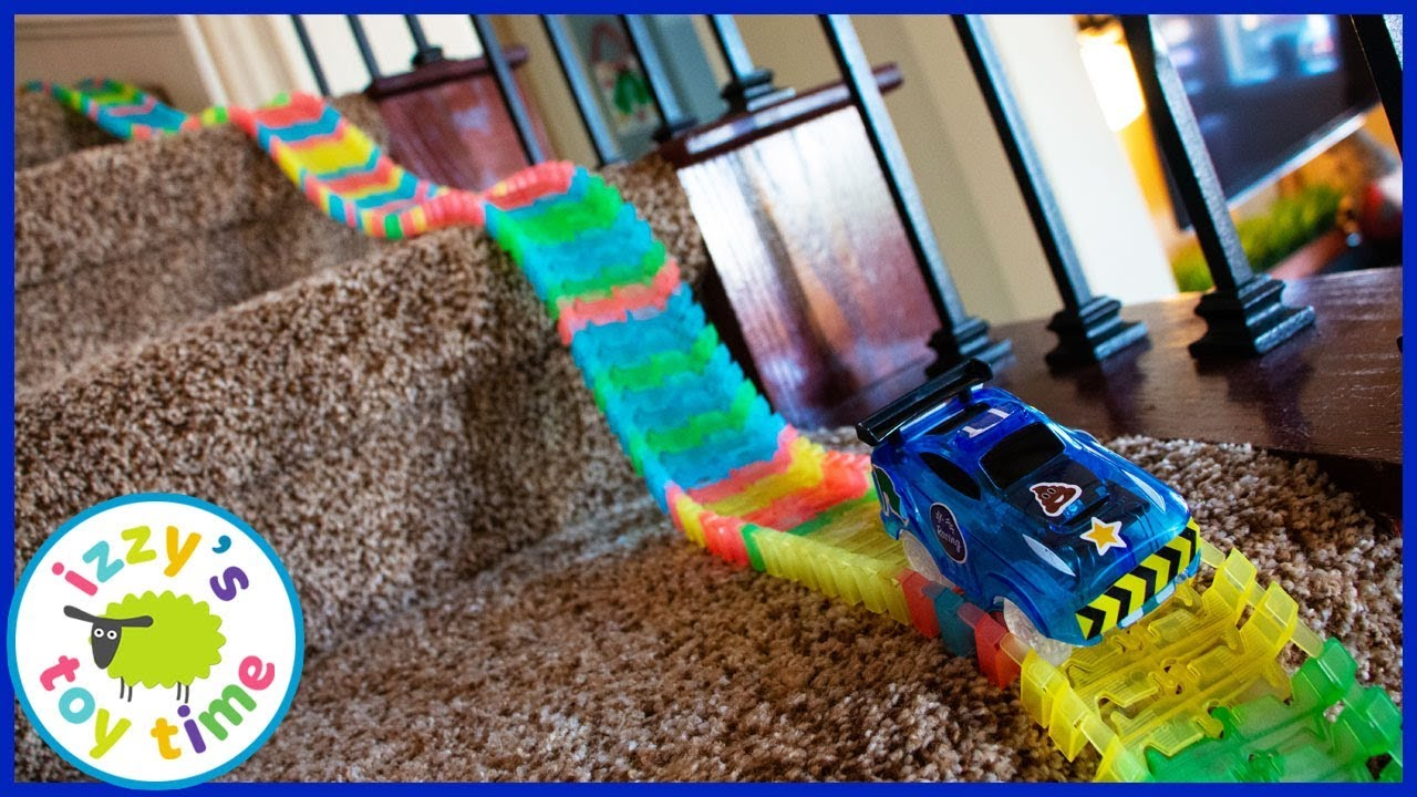 Magic Track Stair Challenge Cars For Kids Youtube