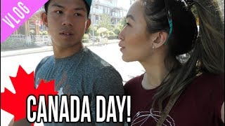 Canada 150 Vancouver BC, Canada Day Vlog!