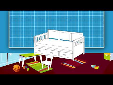 DIY Daybed with Storage   Overview