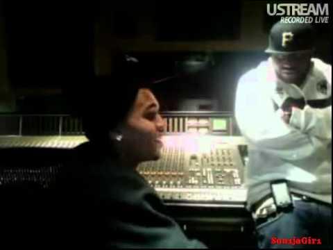 Chris Brown on uStream 03/20/10 08:25PM
