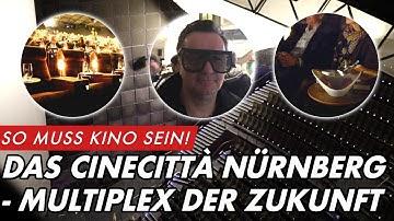So muss Kino sein! Das CINECITTA' Nürnberg - Multiplex der Zukunft | GROBI.TV