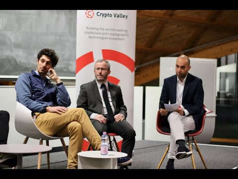 Launch event of the Western Chapter of the Crypto Valley Association, 02.12.2019 EPFL