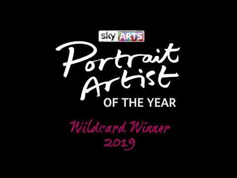 Sky Arts Portrait Artist of the Year - Wildcard Winner 2019