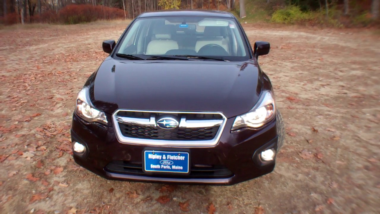 best price 2013 subaru impreza awd for sale near portland me youtube. Black Bedroom Furniture Sets. Home Design Ideas