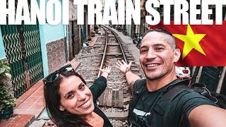 HANOI TRAIN STREET - Could you live this close to the tracks?