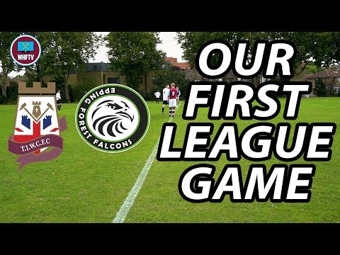 Sunday League! Thames Ironworks vs Epping Forest Falcons | First League Game