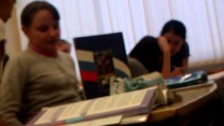 Вот так у нас проходит урок обществознания!)))))))