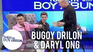 Bugoy Drilon and Daryl Ong play the Mystery Box challenge   TWBA