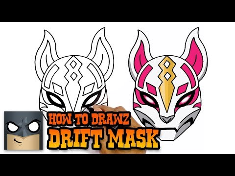 How To Draw Fortnite | Drift Mask
