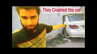 THEY CRASHED THE CAR!!!
