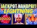 ★JACKPOT HANDPAY! MY FIRST!★ BENGAL TREASURES LIGHTNING LINK Slot Machine Bonus Huge Win!