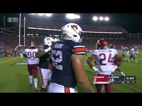 Auburn University Sports - Auburn Football vs. Arkansas Highlights