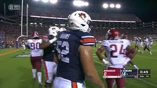 Auburn Football vs. Arkansas Highlights