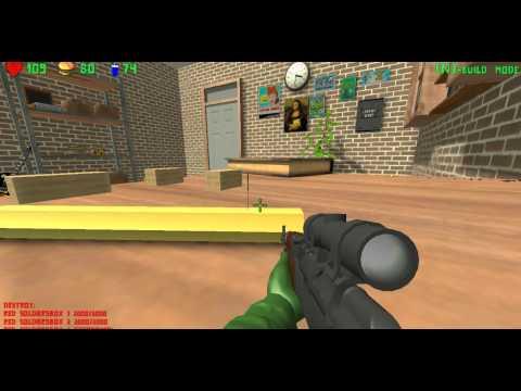 Обзор Игры War of Toys !