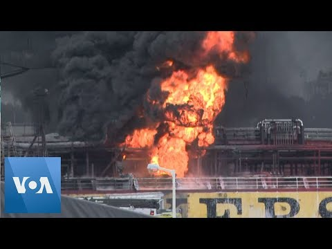 Bobby Leach - WATCH: Huge Tanker Blast In South Korea