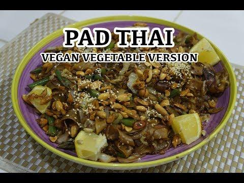 Vegan Vegetable Noodles Recipe - Pad Thai