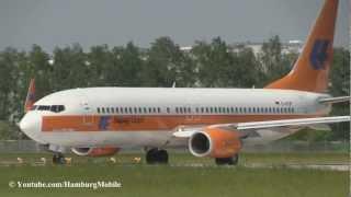 "✈[FullHD] Special cs ""Hapag-Lloyd Retro"" TuiFly - B737-8K5 Takeoff @ Hamburg"