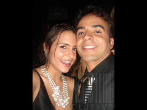 Lilia Luciano y Luis Fonsi