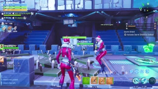 Playing fortnite STW seeing if people will scam