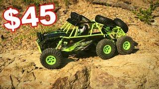 6 Wheel Drive Truck - WLtoys 18628 - RC Climbing Car W/ Lights - RTR - TheRcSaylors
