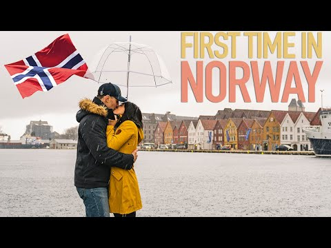 FIRST TIME IN NORWAY - Reacting to Oslo
