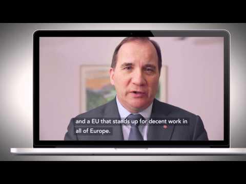 Stefan Löfven: Towards a New Europe