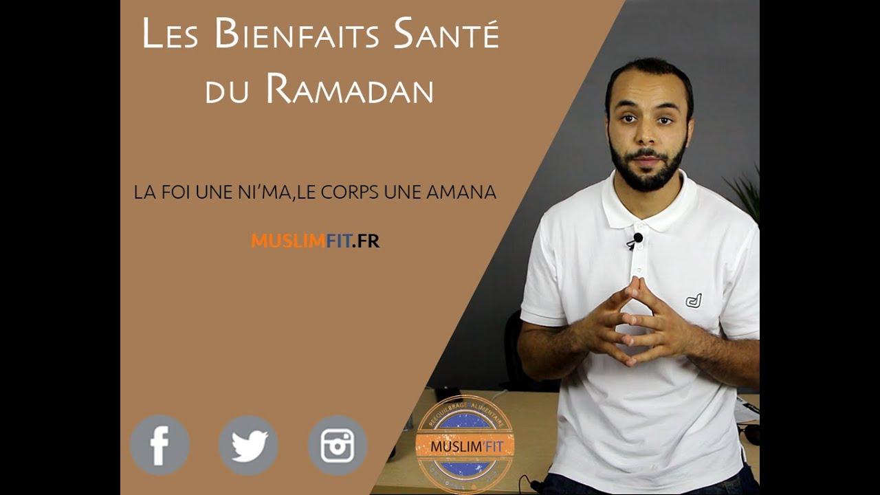 bienfaits du ramadan sur le corps