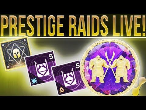 🔴LIVE! Destiny 2 Prestige Raids, New Raid Mods, SCUF Impact Giveaway (With WTFGameNation) & More!
