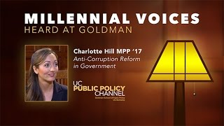 Millennial Voices Heard at Goldman: Charlotte Hill