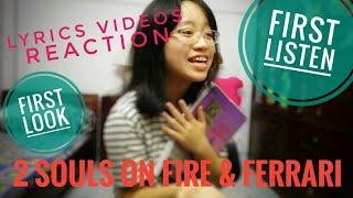 REACTION: 2 Souls on Fire ft Quavo & Ferrari (Bebe Rexha) Lyrics Video