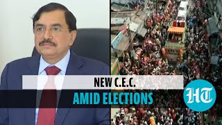 Amid state polls, new Chief Election Commissioner Sushil Chandra takes charge
