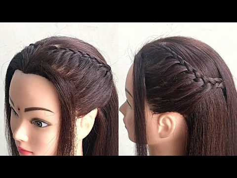 Simple Hairstyle For Party or Function || Beautiful Party Hairstyle For Girls thumbnail