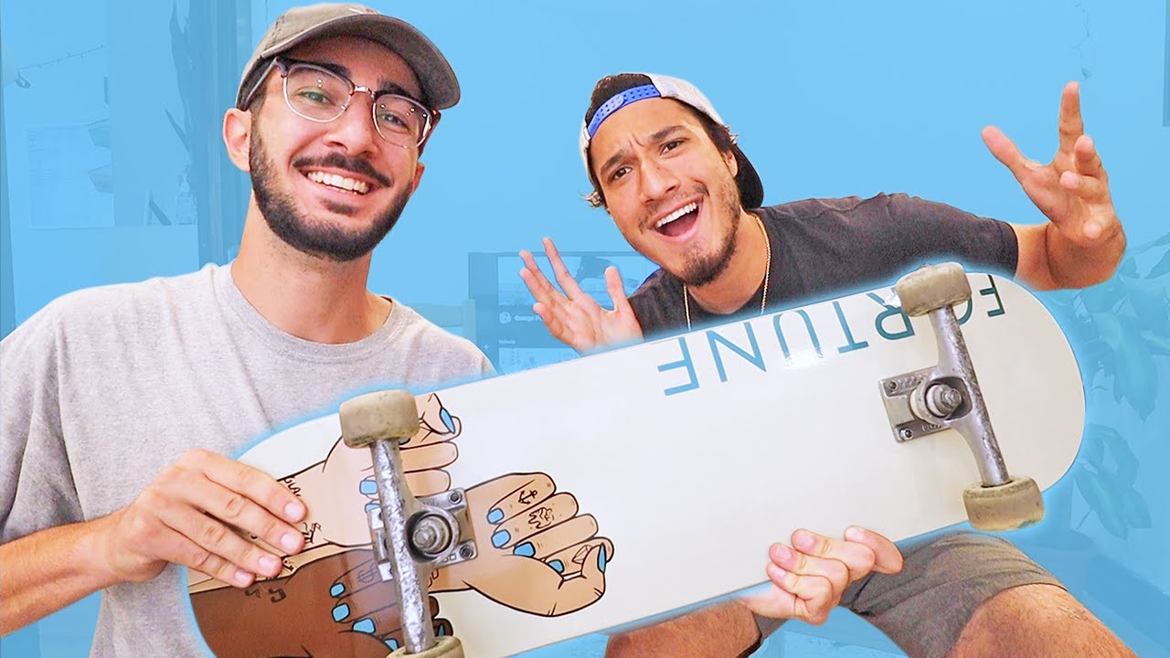 new skate setup + Q&A with my BFF