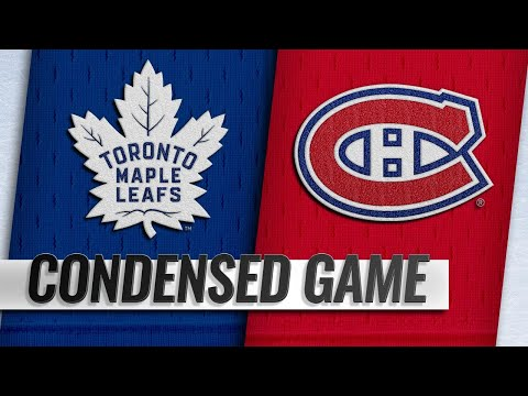 04/06/19 Condensed Game: Maple Leafs @ Canadiens