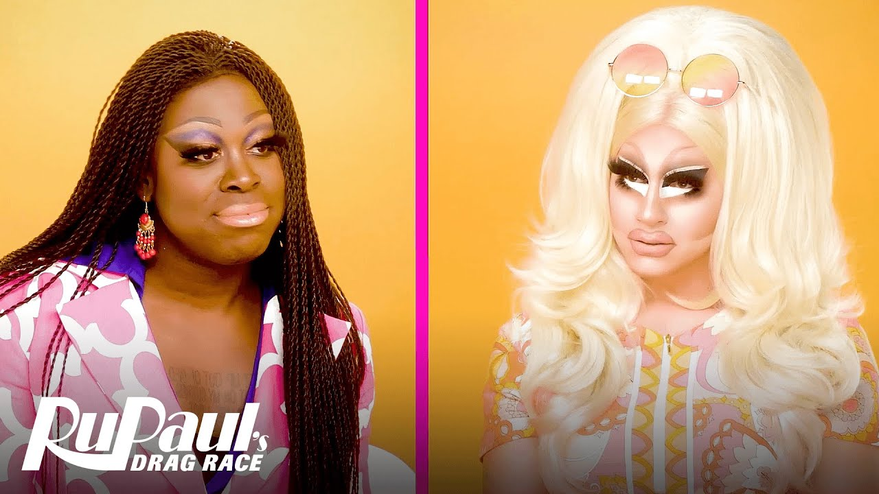 The Pit Stop AS6 E01: Trixie Mattel & Bob The Drag Queen Get All-Started! | RPDR All Stars