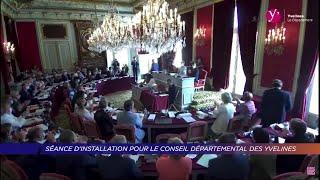 Yvelines | Séance d'installation pour le conseil départemental des Yvelines
