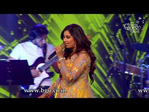 Shreya Ghoshal singing 'Deewani Mastani' From  'Bajirao Mastani'@56th Bengaluru Ganesh Utsava, 2018 Mp3